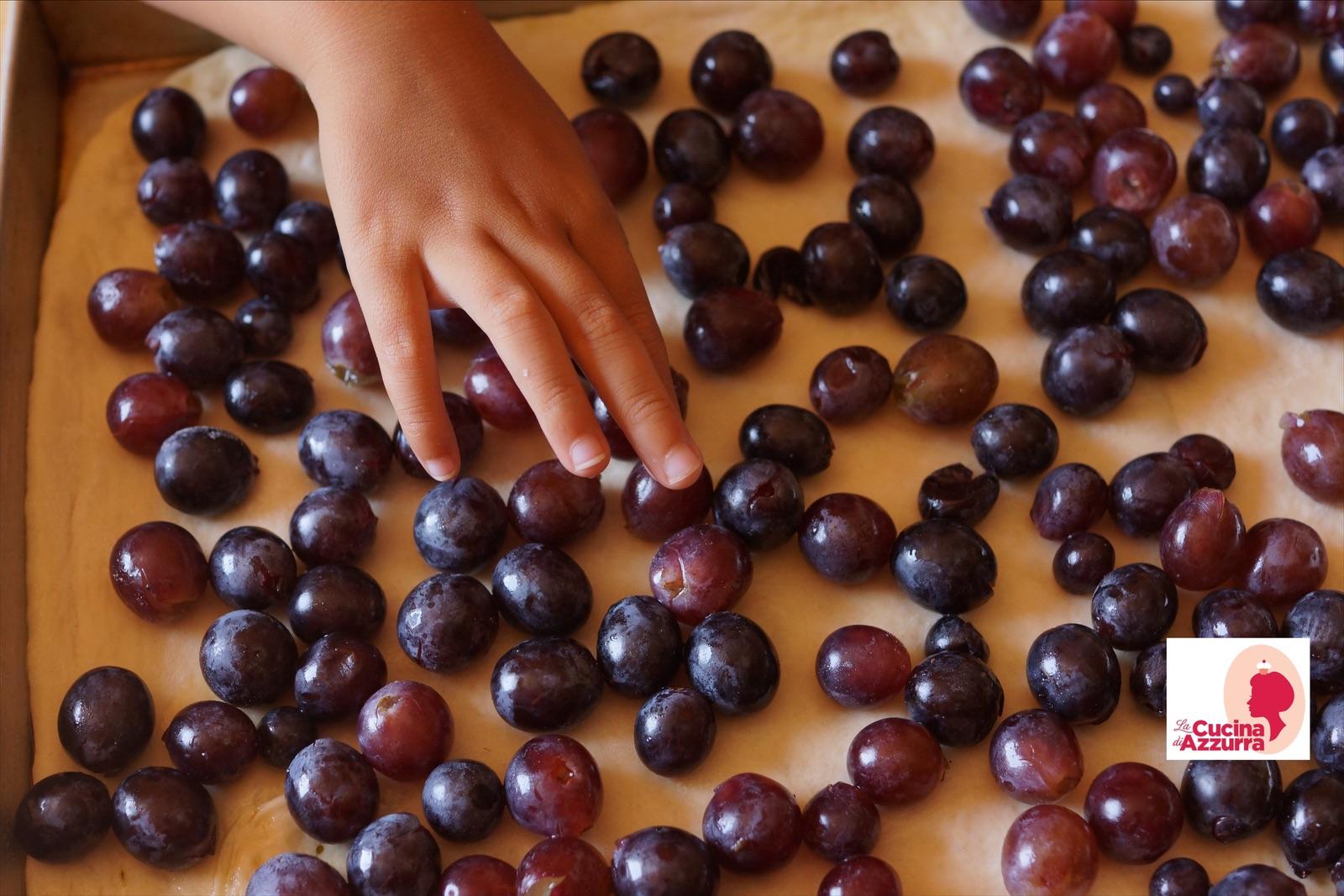pan con l'uva - schiacciata con l'uva