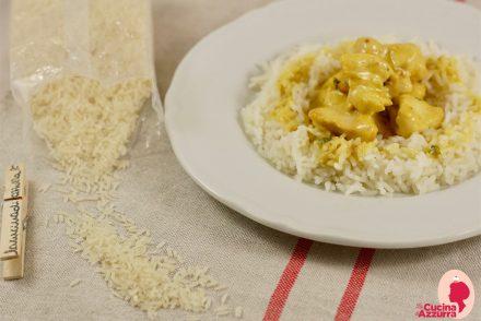 riso thai e pollo al curry
