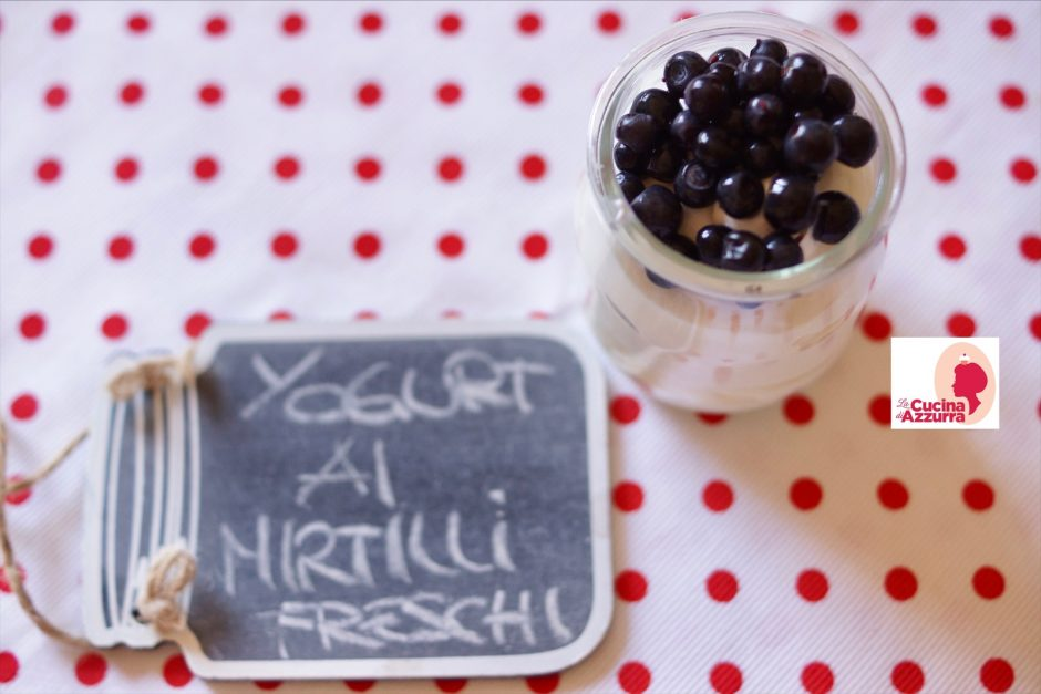 yogurt ai mirtilli