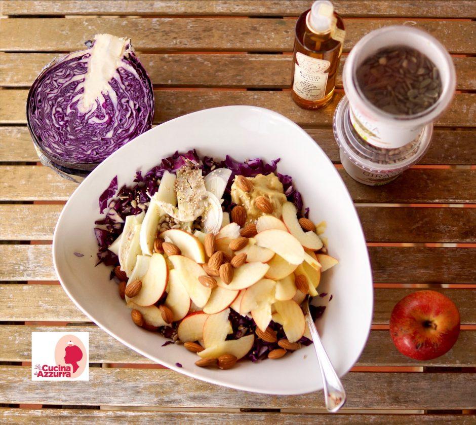 insalata di cavolo viola