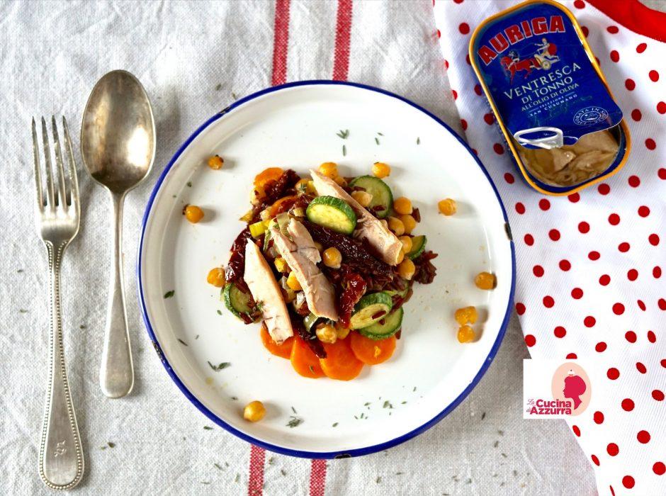 insalata riso nero e tonno Auriga