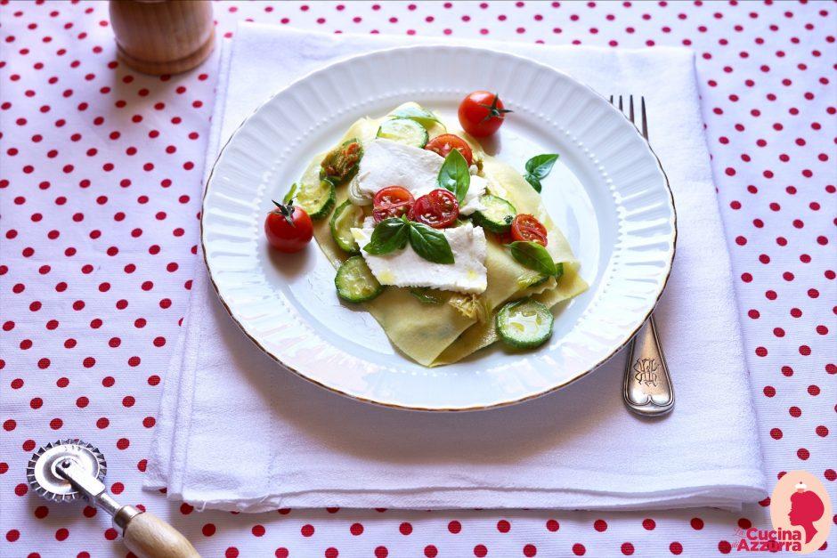 lasagnette alle verdure e ricotta