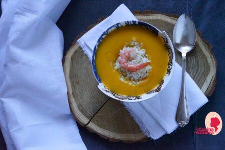 zuppa di zucca vellutata di zucca