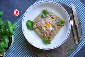 galette bretonne al prosciutto